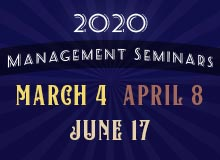 2020 Management Seminars